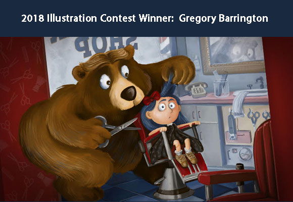 Gregory Barringtonwon the 2018 Illustration contest at the 2018 Fall Letters & Lines Conference. Greg's illustration will be featured in a calendar andon merchandise that will be given to industry professionals at the 2019 Fall Conference. Calendars will be for sale to members and interested others. You can find out more about this talented illustrator here: GregoryBarrington.com. Congratulations, Greg!