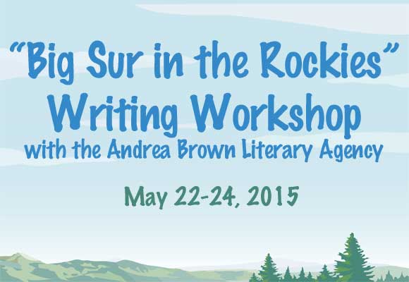 Literary Agent and Director of the Big Sur Writing Workshops, Andrea Brown, and the Rocky Mountain Chapter of SCBWI will bring a writing workshop to Boulder, Colorado for writers of picture books, early readers, chapter books, middle grade and young adult novels. Click here for more information!