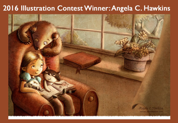Angela C. Hawkins won the 2016 Illustration contest at the 2016 Fall Letters & Lines Conference. Angela's illustration will be featured in a calendar and on merchandise that will be given to industry professionals at the 2017 Fall Conference. Calendars will be for sale to members and interested others. You can find out more about this talented illustrator on her website. Congratulations, Angela!